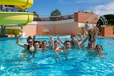 CAMPING COTE PLAGE-La piscine du camping CAMPING COTE PLAGE-SAINT JEAN DE MONTS