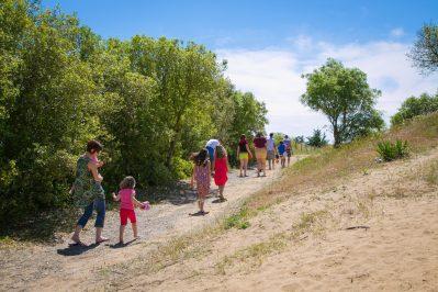CAMPING COTE PLAGE-Accès direct à la plage pour le camping CAMPING COTE PLAGE-SAINT JEAN DE MONTS