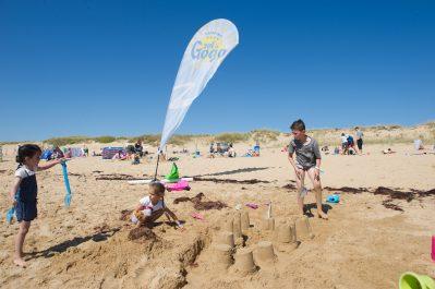 SOL A GOGO-Accès direct à la plage pour le camping SOL A GOGO-SAINT HILAIRE DE RIEZ