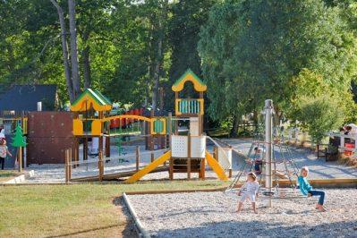 CHATEAU DE LEZ-EAUX-Espace jeux pour les enfants-SAINT PAIR SUR MER