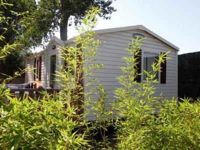 LE BOSQUET-Les mobil-homes du camping LE BOSQUET-CANET EN ROUSSILLON