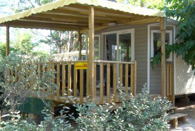 LES JARDINS DE TIVOLI-Les mobil-homes du camping LES JARDINS DE TIVOLI-GRAU DU ROI
