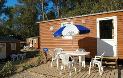 LA FORET DE JANAS-Le camping LA FORET DE JANAS, das Departement Var-SEYNE SUR MER