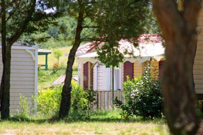 DOMAINE D'ARNAUTEILLE-Les mobil-homes du camping DOMAINE D'ARNAUTEILLE-MONTCLAR