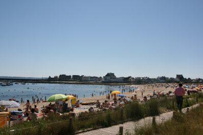 CAMPING PEN PALUD-La plage-PLOEMEUR