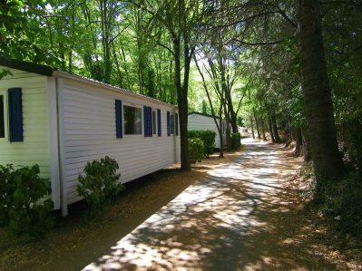 LES GORGES DE L'HERAULT-Les mobil-homes du camping LES GORGES DE L'HERAULT-SUMENE