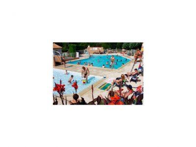 LE VAL VERT-La piscine du camping LE VAL VERT-VAUX SUR MER