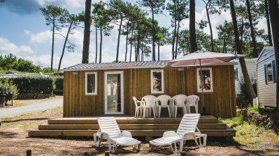 PYLA-CAMPING-Les mobil-homes du camping PYLA-CAMPING-TESTE DE BUCH