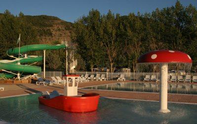 LE LAC-Jeux aquatiques au camping LE LAC, das Departement Alpes-de-Haute-Provence-CURBANS