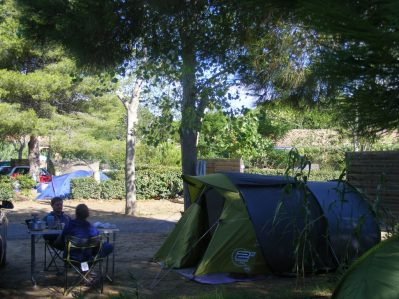 LES SABLETTES-Les emplacements du camping LES SABLETTES-AGDE