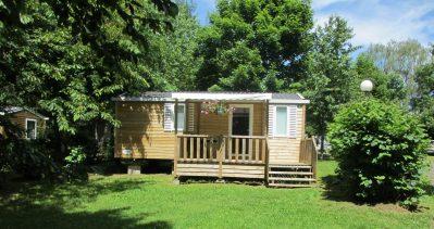 CAMPING DE FREAUDOUR-Les mobil-homes du camping CAMPING DE FREAUDOUR-SAINT PARDOUX