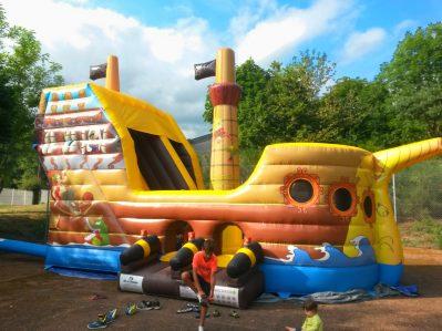 CAMPING DE FREAUDOUR-Espace jeux pour les enfants-SAINT PARDOUX