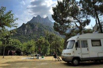 SOLE E VISTA-Les emplacements du camping SOLE E VISTA-OTA