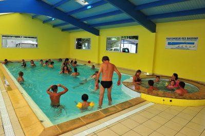 LA BOLEE D'AIR-La piscine couverte et chauffée du camping LA BOLEE D'AIR-SAINT VINCENT SUR JARD