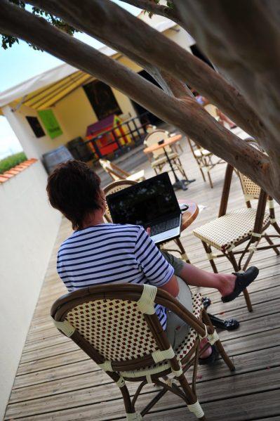 LA BOLEE D'AIR-Le camping LA BOLEE D'AIR, das Departement Vendée-SAINT VINCENT SUR JARD
