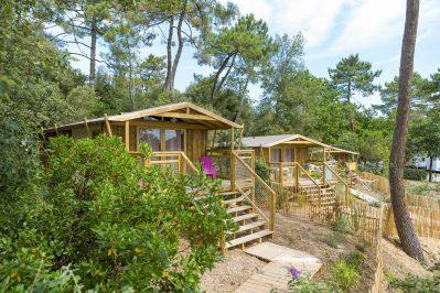 CAMPING DES PINS-Les hébergements insolites du camping CAMPING DES PINS-SOULAC SUR MER