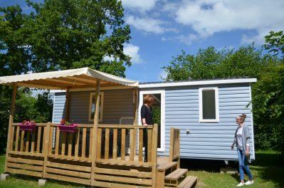 CAMPING DE SAULIEU-Les mobil-homes du camping CAMPING DE SAULIEU-SAULIEU