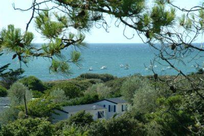 L'ANSE DES PINS-Accès direct à la plage pour le camping L'ANSE DES PINS-SAINT GEORGES D'OLERON