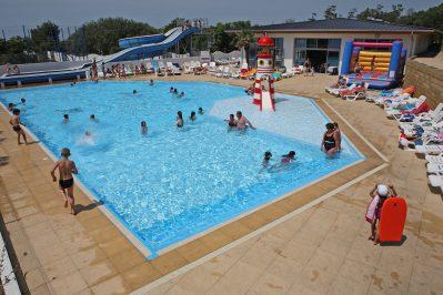 L'ANSE DES PINS-Le parc aquatique du camping L'ANSE DES PINS-SAINT GEORGES D'OLERON
