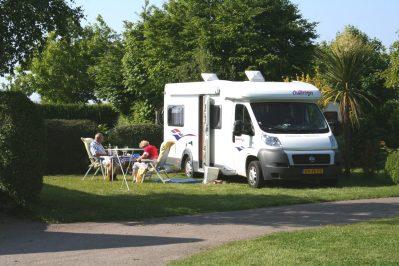BELLEVUE-Les emplacements du camping BELLEVUE-ERQUY