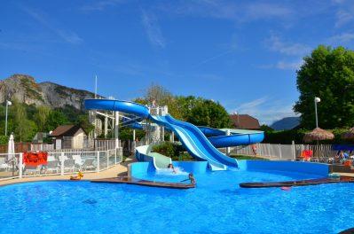 LA RAVOIRE-La piscine du camping LA RAVOIRE-DOUSSARD