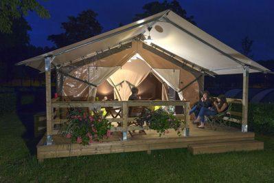 ARMOR LOISIRS-Les hébergements insolites du camping ARMOR LOISIRS-TREBEURDEN