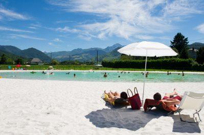 LE MONLOO-La plage-BAGNERES DE BIGORRE