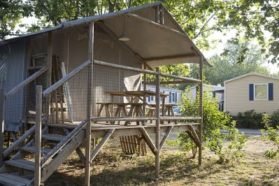 LA PLAGE D'ARGENS-Les hébergements insolites du camping LA PLAGE D'ARGENS-FREJUS