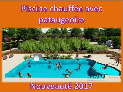 LA CIGALINE-La piscine du camping LA CIGALINE-MONTPON MENESTEROL