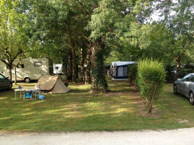 LA CIGALINE-Les emplacements du camping LA CIGALINE-MONTPON MENESTEROL