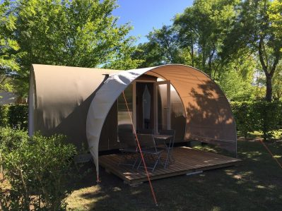 LA CIGALINE-Les hébergements insolites du camping LA CIGALINE-MONTPON MENESTEROL