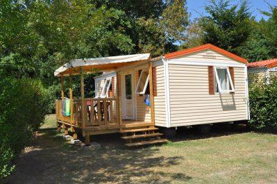 LA CIGALINE-Les mobil-homes du camping LA CIGALINE-MONTPON MENESTEROL