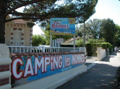 LES NONNES-Le camping LES NONNES, das Departement Charente-Maritime-MESCHERS SUR GIRONDE