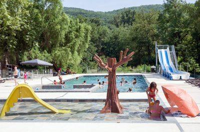 LE MOULIN-Le parc aquatique du camping LE MOULIN-MARTRES TOLOSANE