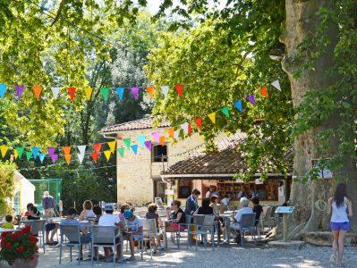 LE MOULIN-Le restaurant du camping LE MOULIN-MARTRES TOLOSANE