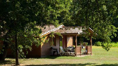LE MOULIN-Les chalets du camping LE MOULIN-MARTRES TOLOSANE