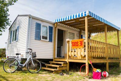 LE CARAVANILE-Les mobil-homes du camping LE CARAVANILE-GUERINIERE