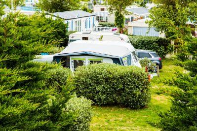 LE CARAVANILE-Les emplacements du camping LE CARAVANILE-GUERINIERE
