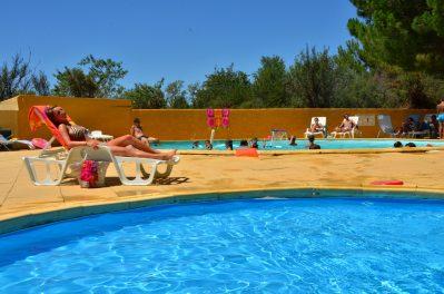LE MAS DU PADRE-La piscine du camping LE MAS DU PADRE-BALARUC LES BAINS