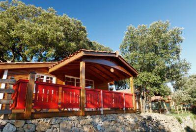 DOMAINE DE SEVENIER-Les chalets du camping DOMAINE DE SEVENIER-LAGORCE