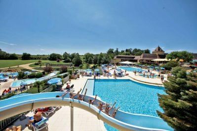 SAINT AVIT LOISIRS-Le parc aquatique du camping SAINT AVIT LOISIRS-SAINT AVIT DE VIALARD