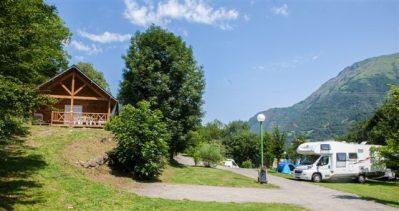 PYRENEVASION-Les chalets du camping PYRENEVASION-SAZOS