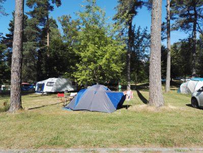 CAMPING DU LAC-Un camping en pleine nature-MARCILLAC LA CROISILLE