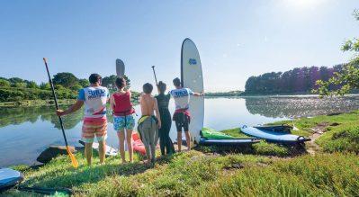 VILLAGE L'OCEAN BRETON-Activités sportives pour petits et grands-PLOBANNALEC