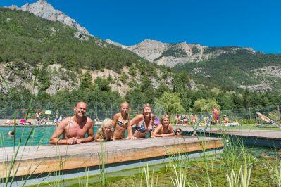 LE COUROUNBA-La piscine du camping LE COUROUNBA-VIGNEAUX