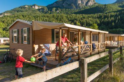 LE COUROUNBA-Les mobil-homes du camping LE COUROUNBA-VIGNEAUX
