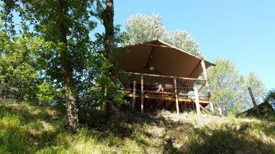 LA ROCHELAMBERT-Les hébergements insolites du camping LA ROCHELAMBERT-SAINT PAULIEN