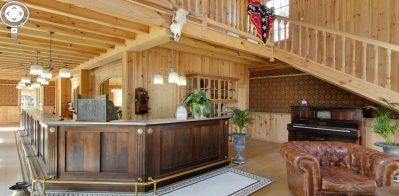 CASTEL / LE VILLAGE WESTERN-La réception du camping CASTEL / LE VILLAGE WESTERN-HOURTIN