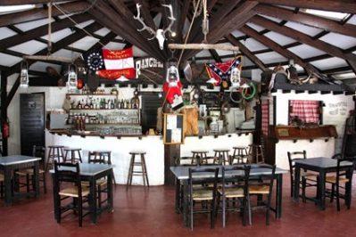CASTEL / LE VILLAGE WESTERN-Le restaurant du camping CASTEL / LE VILLAGE WESTERN-HOURTIN