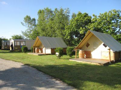 LA VALLEE DU NINIAN-Les hébergements insolites du camping LA VALLEE DU NINIAN-TAUPONT
